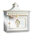 Burg Wächter Guss-Briefkasten Bordeaux 1895 W