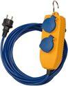Brennenstuhl - Verlängerungskabel IP44 mit Powerblock 5m blau AT-N05V3V3-F 3G1,5