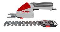 IKRA Akku Gras- und Strauchschere IGBS 1054 (mit Tasche/deutsche Messer)