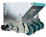 COLLOMIX Mörtelrolle MR-KS 240, für Steinbreiten 240, 200, 175, 115 mm, 2 Reduzierbleche