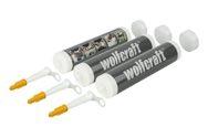 wolfcraft 3 Leerkartuschen 310ml - 4044000