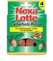 Nexa Lotte Cedarholzringe 4 Stück