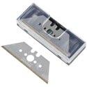 wolfcraft 5 Profi-Trapezklingen in Box, 0,65x61 mm