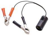 as-Schwabe 42305 Adapterleitung 12V, Batterieklemmen Zigarettenanzünder