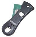 wolfcraft 1 KM 100 - Kartuschenmesser zum sicheren Öffnen von Kartuschen und Schneiden der Kartuschenspitzen