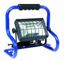 as-Schwabe mobiler Chip-LED-Strahler 20 W, IP 65 Baustrahler für Aussen und Baustelle, blau (EEK: A)
