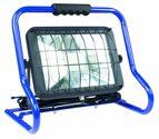 as-Schwabe mobiler Chip-LED-Strahler 50 W, IP 40 Baustrahler für Aussen und Baustelle, blau (EEK: A)