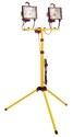 as-Schwabe 46795 Stativ mit Halogenstrahler 2x400W, 2,5m H05RN-F 3G1,0 (EEK: C)