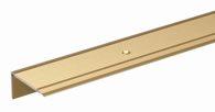 GAH Treppenkanten-Schutzprofil / 1mAlu Goldf.Elox 45x23x2.7mm - 484019