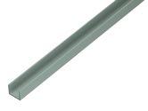 GAH U-Profil 1 M / 19x15x1.5 mmAlu Silberf. Elox. / 1 M - 485603