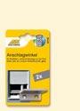 Schellenberg Anschlagwinkel für Rollladen grau - 52102