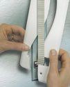 Schellenberg Abdeckplatte Softline 16,0 weiß - 53803
