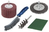 wolfcraft 1 Metall-Bearbeitungs-Set 5-tlg. - 5641000