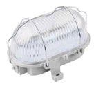 as-Schwabe 56750 LED-Ovalleuchte 7W, grau, für Feuchtraum (EEK: A)