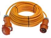 as-Schwabe 59510 CEE-Verlängerung 10m, orange, 10 m H07BQ-F 5G1,5