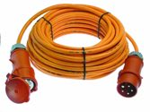 as-Schwabe 59629 CEE-Verlängerung 10m, orange, H07BQ-F 5G6