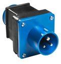 as-Schwabe 60494 Adapterstecker 230V/16A, CEE-Gerätestecker auf Schutzkontaktsteckdose