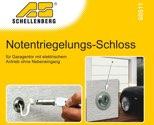 Schellenberg Notentriegelungsschloß f.Garagentor - 60511