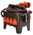 as-Schwabe 60552 Baustellen-Stromverteiler M2 400V