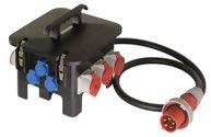as-Schwabe 60561 Baustellen-Stromverteiler M6 400V, 2m H07RN-F 5G16