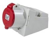 as-Schwabe 60579 CEE-Wandsteckdose 400V/32A, Gehäuse aus Polyamid