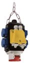 as-Schwabe 60764 MIXO Energiewürfel II DAT +, für 5x1,5 bis 5x2,5mm²