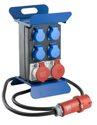 as-Schwabe 60845 Stromverteiler STECKY 1+, 2m H07RN-F 5G2,5