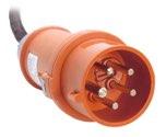 as-Schwabe 61461 MENNEKES CEE-Phasenwenderstecker 400V/32, mit Schraubanschluss