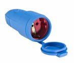 as-Schwabe 62411 Gummikupplung, blau, mit Deckel max. Querschnitt 2,5mm²
