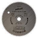 wolfcraft 1 Kreissägeblatt CV ø127x12,75x1,2mm 80Z