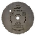 wolfcraft 1 Kreissägeblatt CV, 100 Zähne ø140mm - 6258000