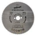 wolfcraft 1 Kreissägeblatt CV, 100 Zähne ø160mm - 6268000
