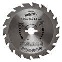 wolfcraft 1 Kreissägeblatt HM, 18 Zähne ø130mm