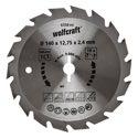 wolfcraft 1 Kreissägeblatt HM, 18 Zähne ø134mm