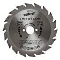 wolfcraft 1 Kreissägeblatt HM, 18 Zähne ø140mm