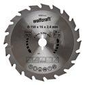 wolfcraft 1 Kreissägeblatt HM, 20 Zähne ø150mm - 6363000