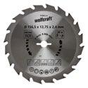 wolfcraft 1 Kreissägeblatt HM, 20 Zähne ø156,5mm