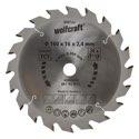 wolfcraft 1 Kreissägeblatt HM, 20 Zähne ø160mm - 6367000