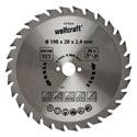 wolfcraft 1 Kreissägeblatt HM, 30 Zähne ø190mm - 6376000