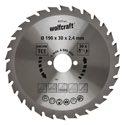 wolfcraft 1 Kreissägeblatt HM, 30 Zähne ø200mm
