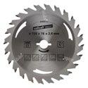 wolfcraft 1 Kreissägeblatt HM, 24 Zähne ø150mm - 6463000