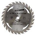 wolfcraft 1 Kreissägeblatt HM, 28 Zähne ø190mm - 6475000