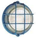 as-Schwabe 66004 Rundleuchte 100W, blau, Kristallglas , Fassung E27 (EEK: E)
