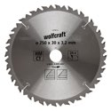 wolfcraft HM-Kreissägeblatt, 24 Z, Ø 250x30x 3,2mm