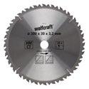 wolfcraft HM-Kreissägeblatt, 28 Z, Ø 300x30x 3,2mm