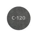 wolfcraft 5 Haft-Gitterleinen Silizium-Karbid Korn 80,120,220 Ø 125 mm
