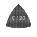 wolfcraft 5 Haft-Gitterleinen Silizium-Karbid Korn 80,120,220 95 mm