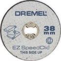 DREMEL EZ SpeedClic: Metall-Trennscheiben im 12er-Pack. (SC456B) - 2615S456JD