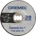 DREMEL EZ SpeedClic – Schleifscheibe (SC541) - 2615S541JA