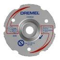 DREMEL DSM20 Mehrzweck-Karbidtrennscheibe zum Bündigschneiden (DSM600) - 2615S600JA